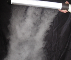 cleanroom Fogger and fog curtain wand