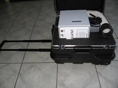 DI Water fogger, carry case