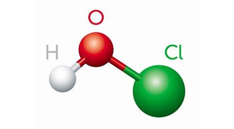 Hypochlorous Acid Molecule